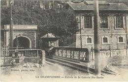 Gard : La Grand Combe, Entrée De La Galerie Ste Barbe - La Grand-Combe