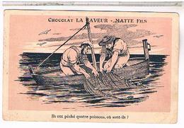 34 MONTPELLIER PUB CHOCOLAT MATE  1931 - Montpellier
