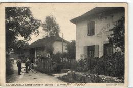 1 Cpsm La Chapelle Saint Martin - La Poste - France