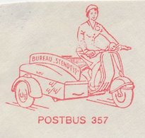 Meter Cut Netherlands 1962 Motorcycle With Sidecar - Moto