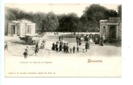 Bruxelles - L'Entrée Du Bois De La Cambre. / J.H. Schaefe, Amsterdam - Bossen, Parken, Tuinen