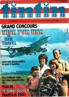 Hebdomadaires Tintin Année 1980 : N° 3 - 4 - 5 - 6 - 7 - 8 - 10 - 12 Et 53. - Tintin