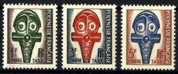 Polinesia Francesa Taxas Nº 1/3 En Nuevo - Oficiales