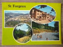 SAINT FORGEUX (69). MULTIVUES . ANNEES 1980.TBE. - France