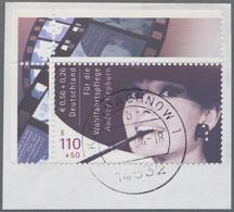 """Bundesrepublik Deutschland: Die Wertvollste Moderne Briefmarke Der Welt  2001. Die Wohlfahrtsmarke """" - BRD"""