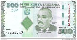 Tanzania - Pick 40 - 500 Shillings 2011 - Unc - Tanzania