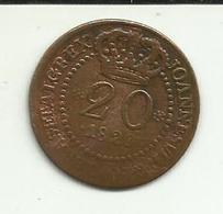 20 Réis 1820 D. João VI Moçambique - Mozambique