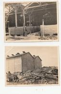 2 PHOTOS - SETE - USINE CHIMIQUE - AGRANDISSEMENT 4ème ATELIER, SULFATE DE CUIVRE - 15/04/21 - 34 - Places