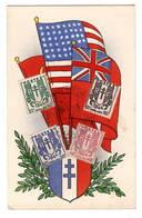 WW2   Exposition La France D'Outre Mer Dans La Guerre    Grand Palais  11 Nov 1945 - Marcophilie (Lettres)