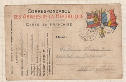 9AL156 Correspondance Militaire 1915  2 SCANS - Guerre 1914-18