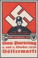 Ansichtskarten: Propaganda: 1930. Gau-Parteitag Völkermarkt [Klagenfurt] 4-5 October 1930: Rare Aust - Parteien & Wahlen
