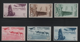 1935 Libia 9 Fiera Tripoli Serie Cpl P.a. MNH - Libia