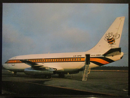 AIR EXECUTIVE NORWEY BUSY BEE AS. B737 LN-NPB - 1946-....: Era Moderna
