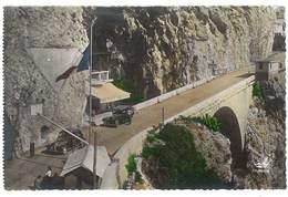 Cpsm Frontière Franco Italienne ( Menton, Automobiles , Bar Ponte San Luigi ) - Menton