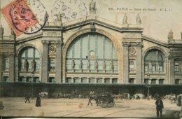 CPA - PARIS - GARE DU NORD - France