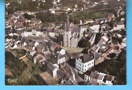 Walcourt-Vue Aérienne Sur La Ville-La Basilique Saint-Materne Et La Place-écrite En1969 - Walcourt
