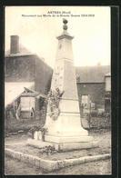 CPA Artres, Monument Aux Morts De La Grande Guerre 1914-18 - France