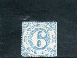 THURN UND TAXIS 1865 * - Tour Et Taxis