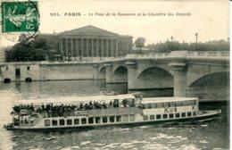 CPA - PARIS - PONT DE LA CONCORDE ET CHAMBRE DES DEPUTES - Ponts
