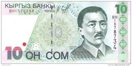 Kyrgyzstan - Pick 14 - 10 Som 1997 - Unc - Kirghizistan