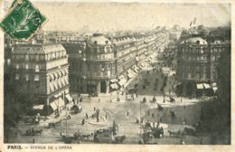CPA - PARIS - AVENUE DE L'OPERA - France