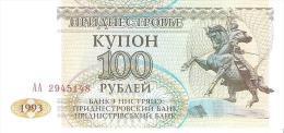Transnistria - Pick 20 - 100 Rublei 1993 - Unc - Banconote