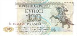 Transnistria - Pick 20 - 100 Rublei 1993 - Unc - Billets