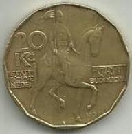 20 Korun 1993 Rep. Checa - Tchéquie