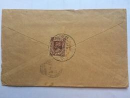 BURMA -1940 George VI Cover - Yegyi To Rangoon - Birmanie (...-1947)