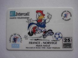 "Carte Prépayée Française ""INTERCALL"" (utilisée Luxe) RARE. - Mobicartes (recharges)"