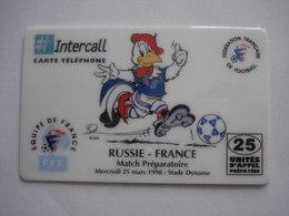 "Carte Prépayée Française ""INTERCALL"" (neuve Non Gratter) RARE. - France"