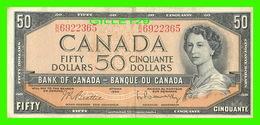BILLETS - CINQUANTE DOLLARS 1954 - BANQUE DU CANADA - No B/H 6922365 - - Canada