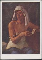 Ansichtskarten: Propaganda: 1942 Ca., Wiener Künstlerhaus, 34 Ausstellungskarten Mit Farbigen Gemäld - Partis Politiques & élections