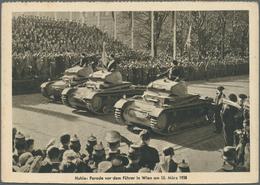"""Ansichtskarten: Propaganda: 1942, """"SOLDATENKALENDER"""", 8 Unterschiedlich Feldpostkarten Mit Diversen - Partis Politiques & élections"""