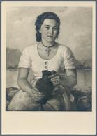 Ansichtskarten: Propaganda: 1943, Große Deutsche Kunstausstellung 1943 Im Haus Der Deutschen Kunst Z - Partis Politiques & élections