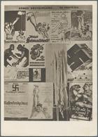 """Ansichtskarten: Propaganda: 1944, Wien Messepalast """"Großausstellung 1918"""" 9 Verschieden Ausstellungs - Partis Politiques & élections"""