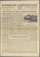 """Ansichtskarten: Propaganda: 1944, ZEITUNGEN, 16 Ausgaben """"RHEINISCHE LANDESZEITUNG"""" 1944 Mit Viel En - Partis Politiques & élections"""