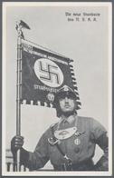 Ansichtskarten: Propaganda: WK II, Partie Mit 35 Karten Und Ganzsachen, Dabei Ausstellung, Parteitag - Partis Politiques & élections