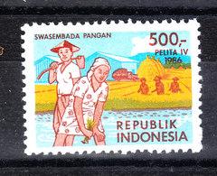 Indonesia - 1986. Coltura Del Riso. Rice Growing. MNH - Agricoltura