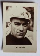 Belle Chromo Photo Cyclisme Tour De France 1933 Cycliste Georges Lemaire Chocolats Loriot Ets Ungemach Strasbourg - Ciclismo