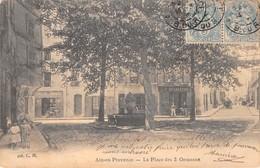 13 - Aix-en-Provence - Beau Plan De La Place Des 3 Ormeaux - Aix En Provence