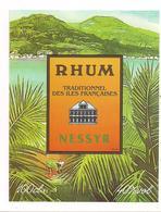 Etiquette  Rhum NESSYR Traditionnel Des Iles Françaises - - Rhum
