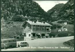 CARTOLINA - CV1895 LANZADA (Sondrio SO) Albergo Fior Di Roccia, Campo Franscia, Valmalemco, FG, Non Viaggiata, - Sondrio