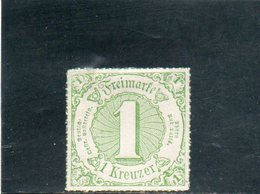 THURN UND TAXIS 1866 SANS GOMME - Tour Et Taxis