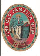 Etiquette  Rhum - Old Jamaica Rum - - Rhum