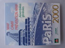 Autocollant MAIF CAMIF PREVENTION MAIF Assemblées Générales Paris 2000 - Altri