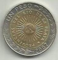 1 Peso 2007 Argentina - Argentine
