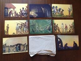 8 Postcards Set David Livingstone Missionary Africa Scottish National Memorial Blantyre Lanarkshire Unposted - Lanarkshire / Glasgow