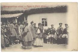 Cpa Russie - Type De Petite Russie N°25 , Musiciens  ( état ) - Russie