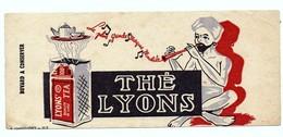 Buvard Thé Lyons Charmeur De Serpents Flûte Chesquières Lille - Café & Thé